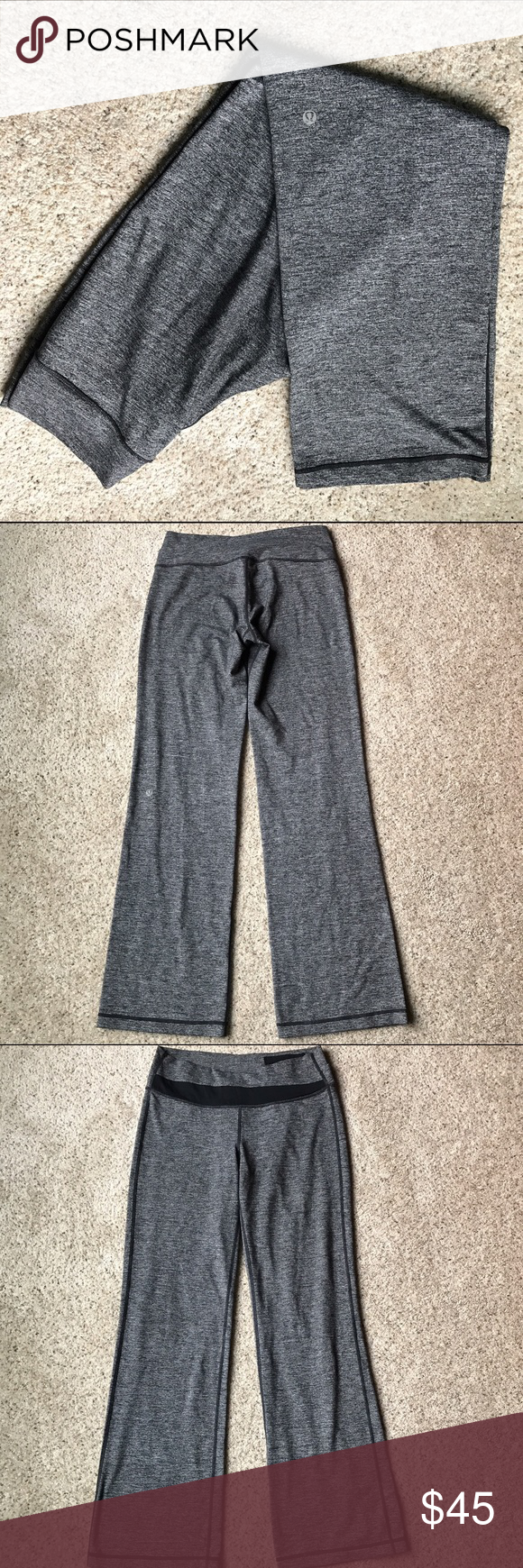Lululemon Grey Yoga Pants In great condition lululemon athletica Pants