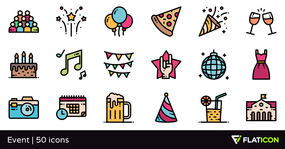 50 Free Vector Icons Of Event Designed By Freepik Vector Free Icon Event Design