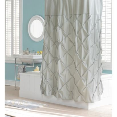 Threshold™ Shower Curtain - Light Gray | New House-Abi\'s Bath ...