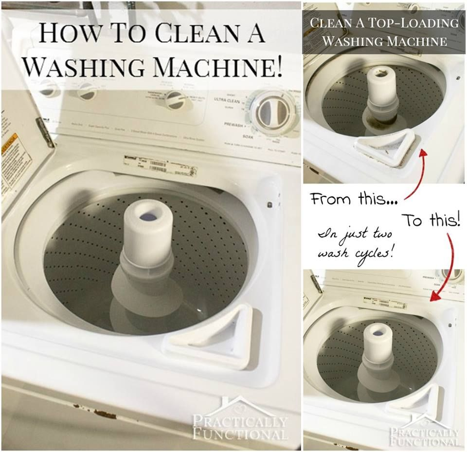 How To Clean Top Loading Washing Machine