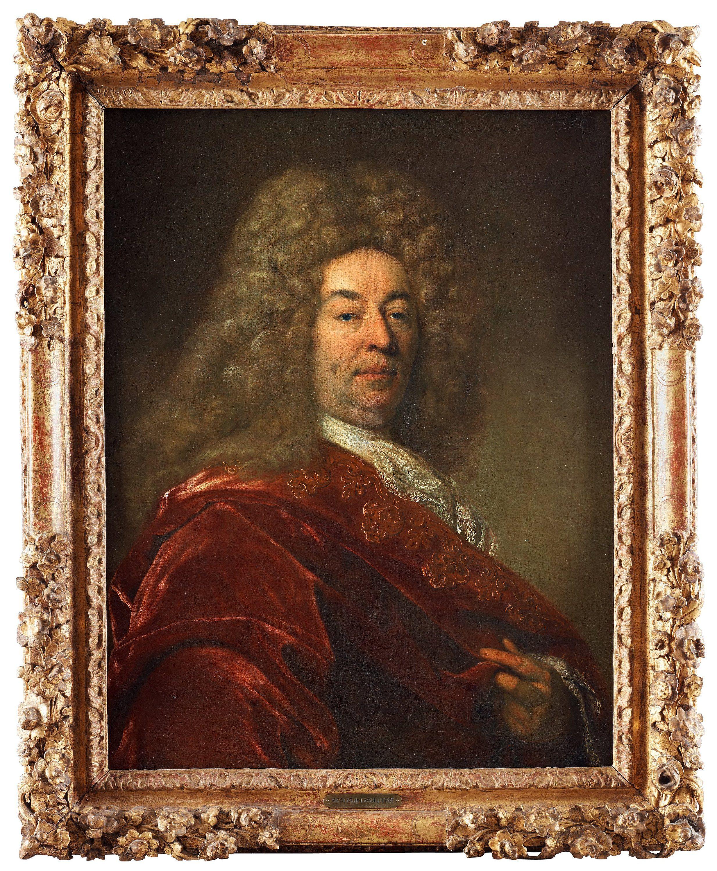 Follower of Nicolas de Largilliere Frankrike 1654-1746. Sold at Bukowskis International auction 2013