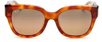 b97bdda8fe Maui Jim Women s Siren Song Polarized Cat Eye Sunglasses