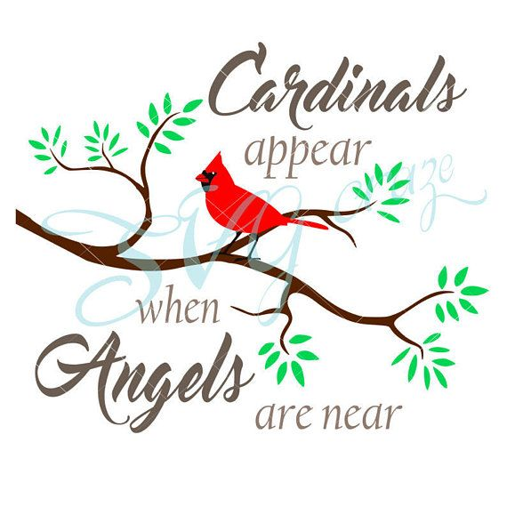 Cardinals Appear When Angels Are Near Memorial Quote Svg Files Etsy In 2020 Window Crafts Cardinals This Is Us Quotes