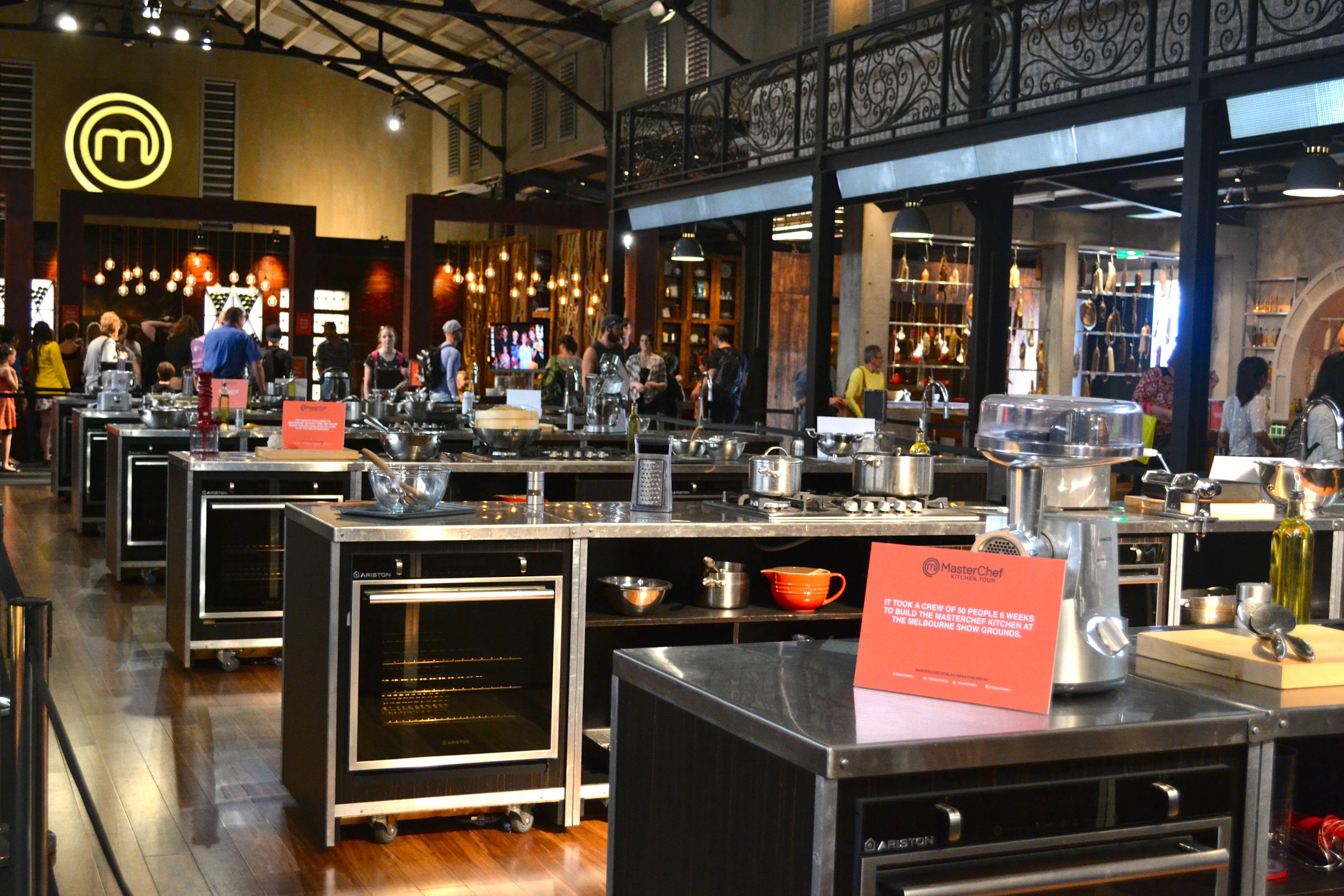 masterchef kitchen - Google Search | Mid-Victorian Remodel ...