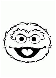 Oscar The Grouch Face Drawings Google Search Letter O