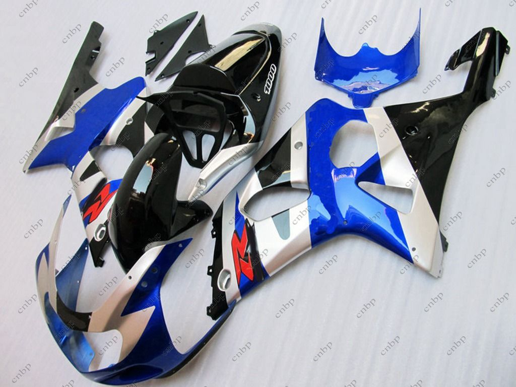 2003 for Suzuki GSXR750 Plastic Fairings Blue GSX-R600 2003 ...