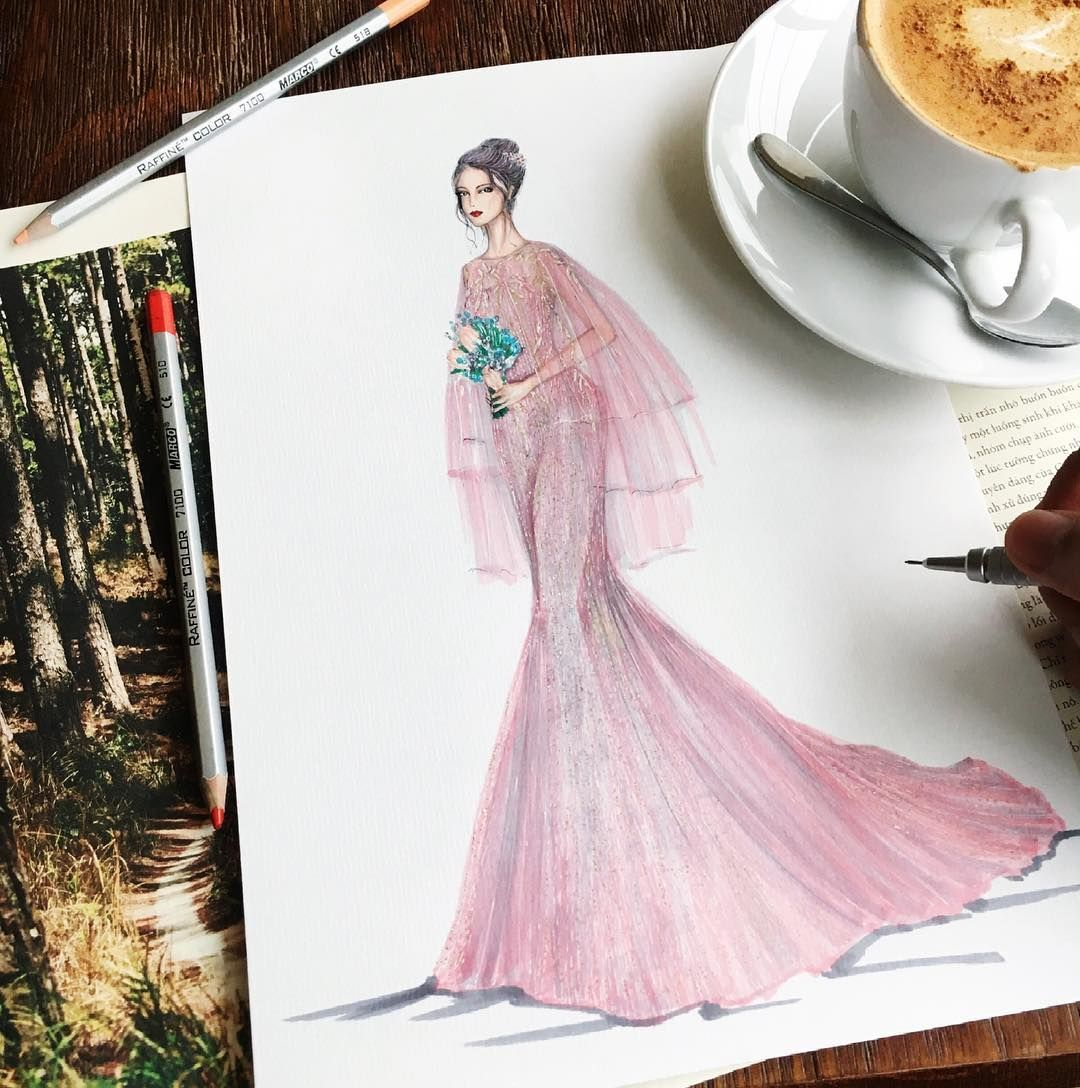 Illustrated for my customer!! Great wedding dress!!! #sketch #sketching #draw #drawing #fashion #fashionsketch #fashionsketching #fashionillustration #fashionillustrator #fashionart #artwork #art #instaart #illustration #illustrator #weddingdress #bridal