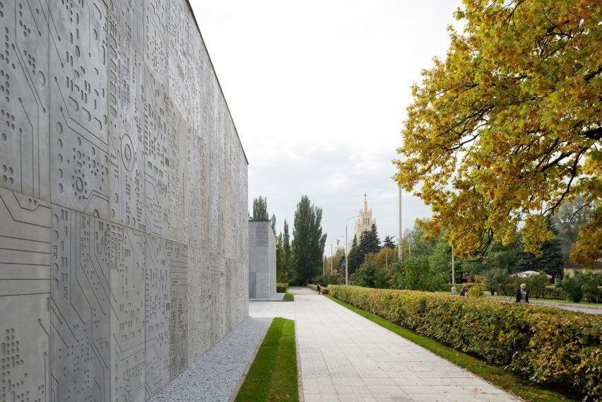 Pavilion dit by architecture bureau wall architecture pinterest
