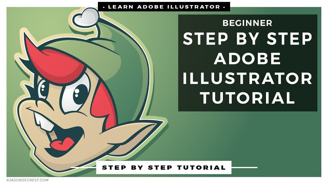step by step adobe illustrator tutorials for beginners | graphic