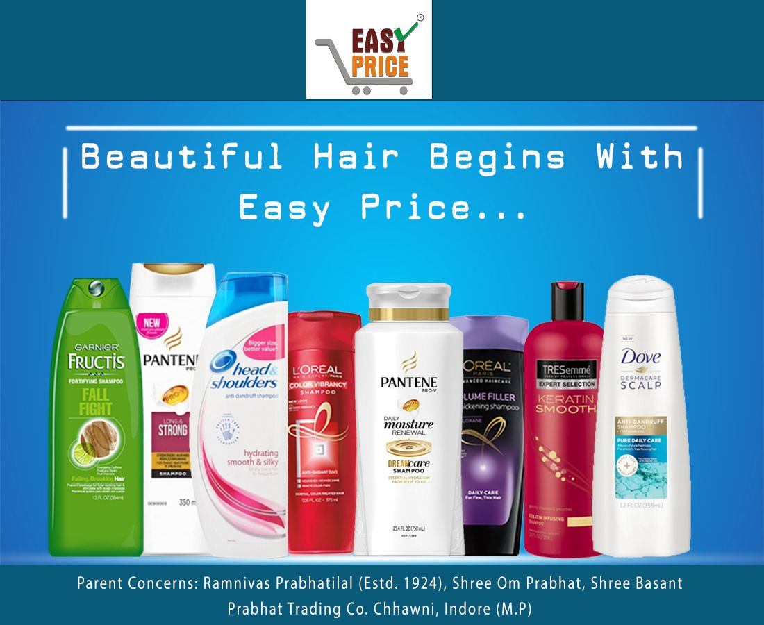 Get awesome range of quality Shampoo to make your hairs