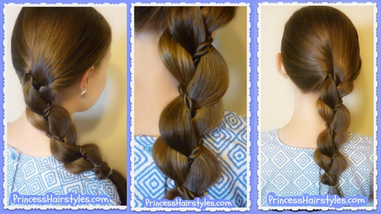 Braid with a twist quick and easy beginner hairstyle hair