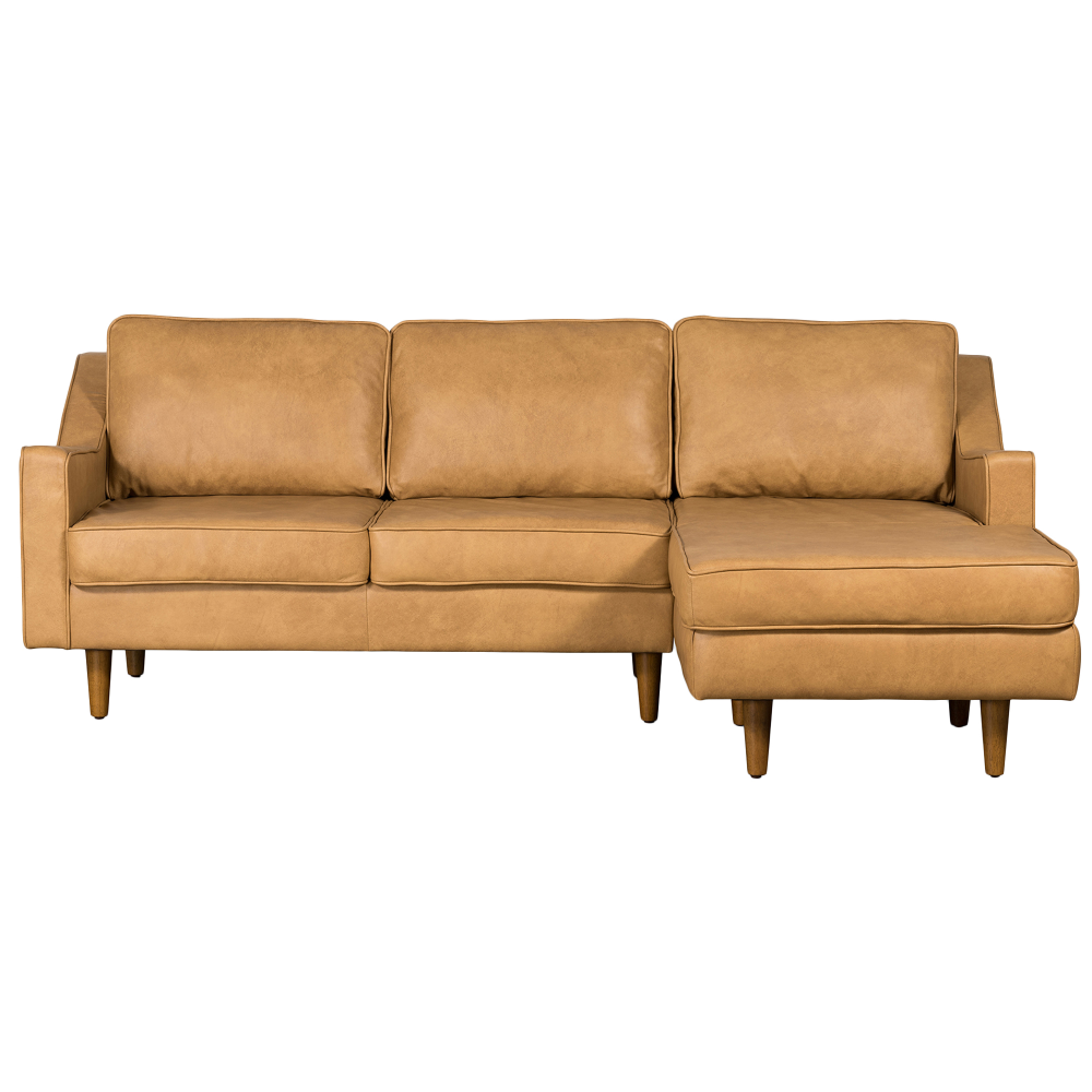 Out Of Stock Taylor 3 Seater Italian Leather Chaise Sofa Temple Webster In 2020 Leather Chaise Sofa Leather Chaise Sectional Leather Corner Sofa