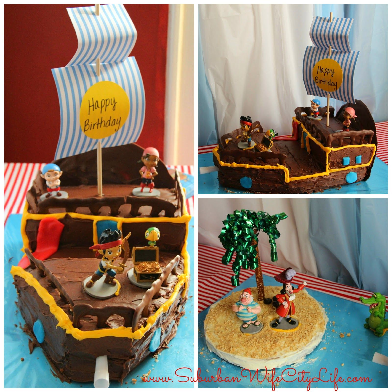 Diy bucky pirate ship cake pirate ship cakes pirate