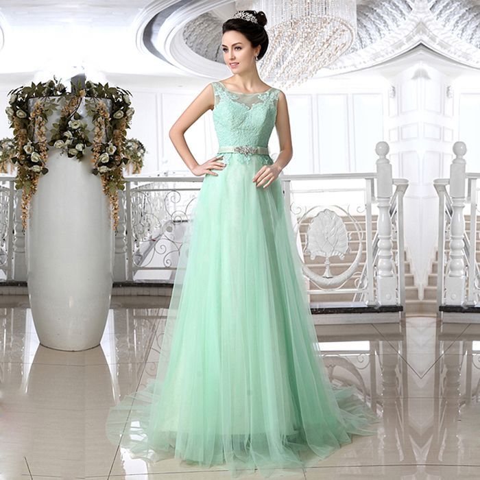Cheap Beading Bit Buy Quality Bead Red Directly From China Beaded Strapless Dress Suppliers Romantic Crystal Mint Green Lace Wedding Dresses Jewel Neck