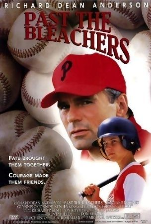Past The Bleachers is a 1995 drama-family-mystery made for TV movie. The film stars Richard Dean Anderson, Barnard Hughes, Glynnis O'Connor, Grayson Fricke, and Ken Jenkins. Brief Synopsis: Bill and his wife have recently had to live through a tragedy. When Bill decides to coach a little league baseball team, he meets a young mute boy named Lucky, who may be just what the team needs in order to win. A very mysterious child, Lucky helps heal the wounds from Bill's past.