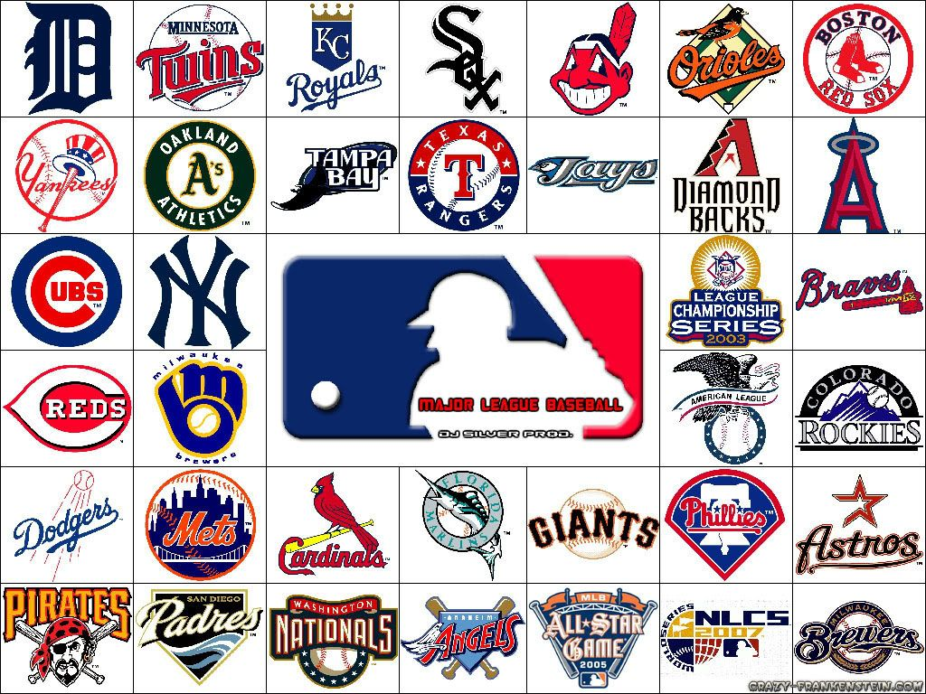 All Major League Baseball Teams Logos Baseball Teams Logo Major League Baseball Logo Major League Baseball Teams