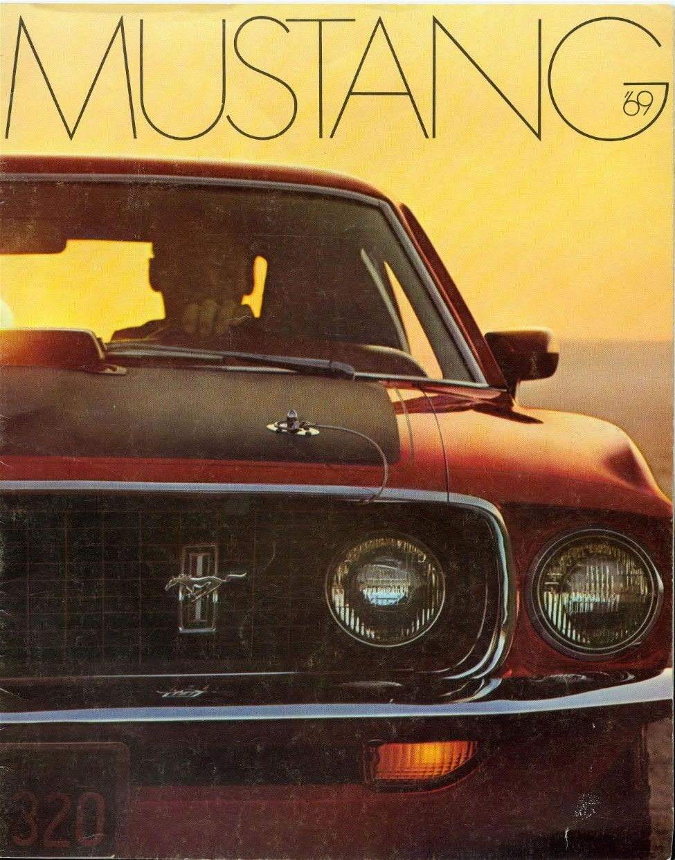 1969 Mustang Brochure With Images Ford Mustang Ford Mustang