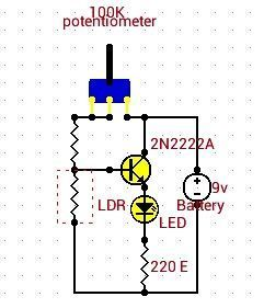 Simple Circuit for Every Electronics Beginners : #Automatic Night ...
