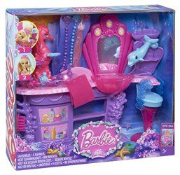 Barbie The Pearl Princess Mermaid Salon Playset