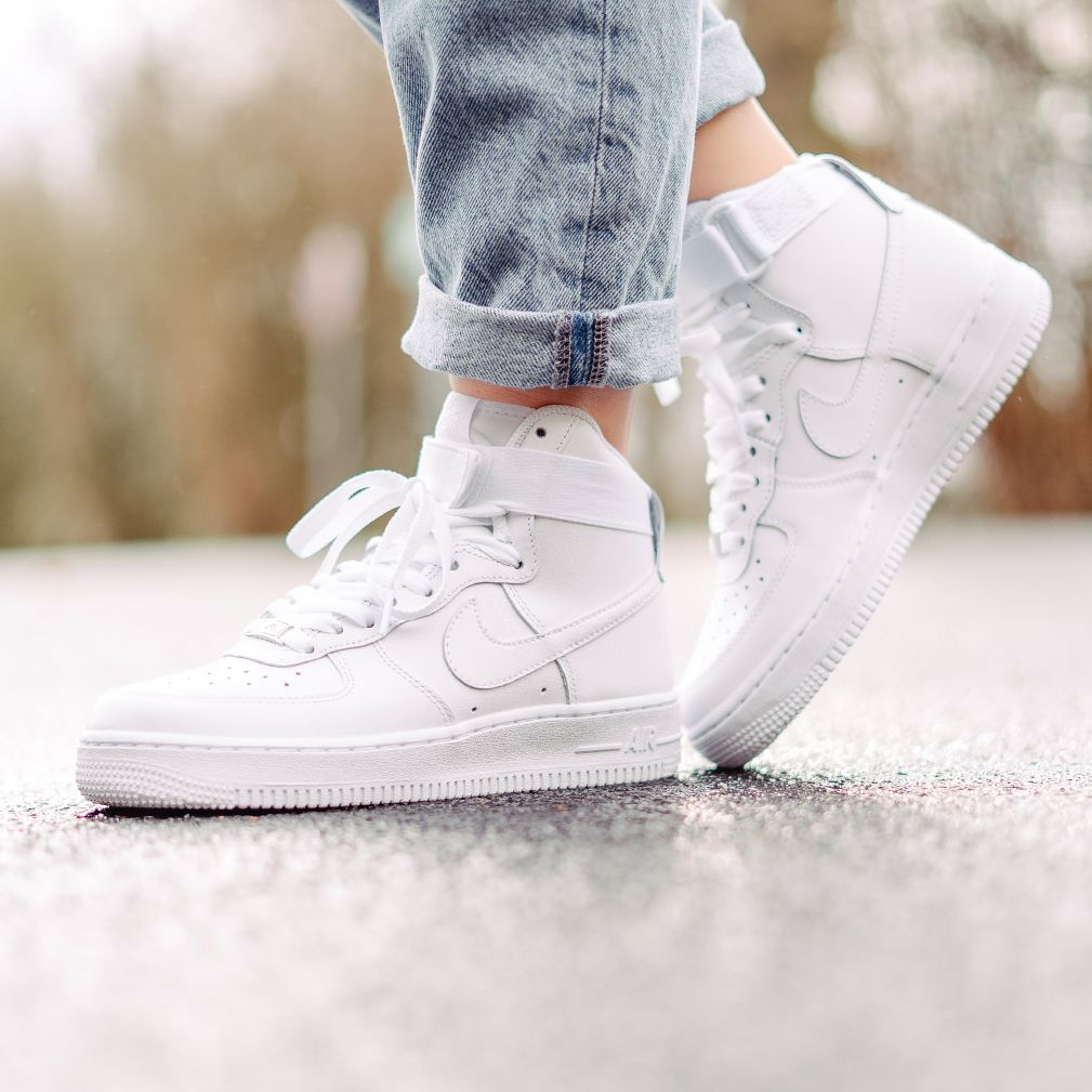 Nike Wmns Air Force 1 High in weiss 334031 105 in 2020