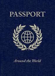 Passport Free Printable R S A B C Passport Invitations