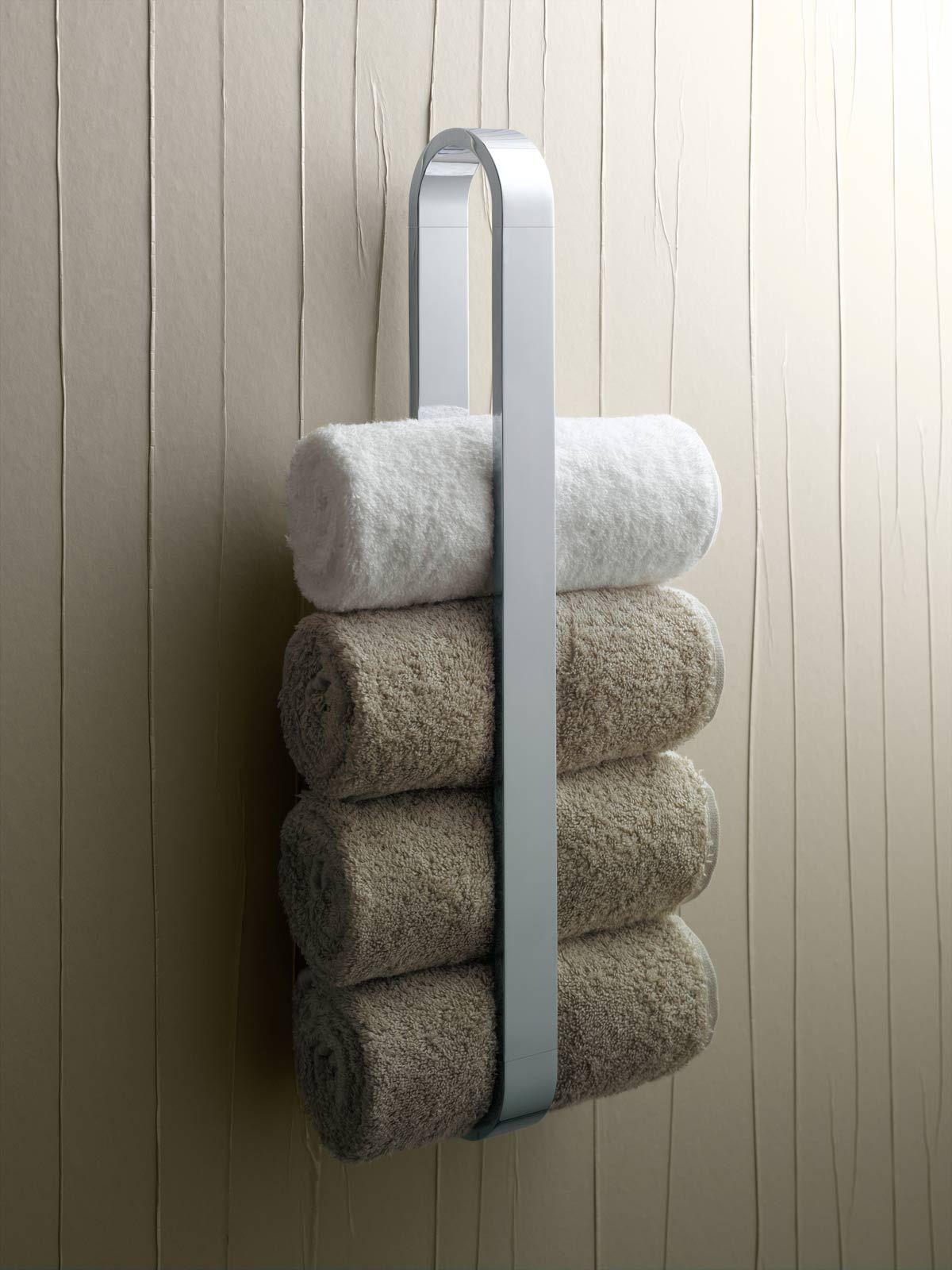 Bathroom Towel Racks With 4 Towels