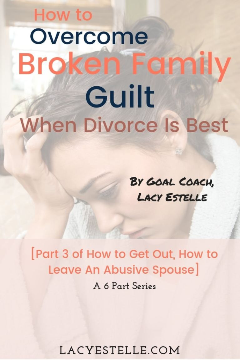 Staying married out of guilt