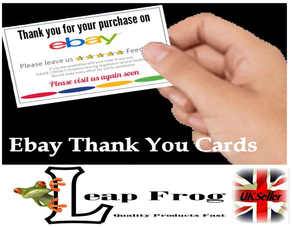 25 ebay seller thank you card industrial office office equipment 25 ebay seller thank you card reheart Gallery