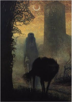 Beksinski - one of my favorite pieces of art. This guy's work is so bizarre, I love it