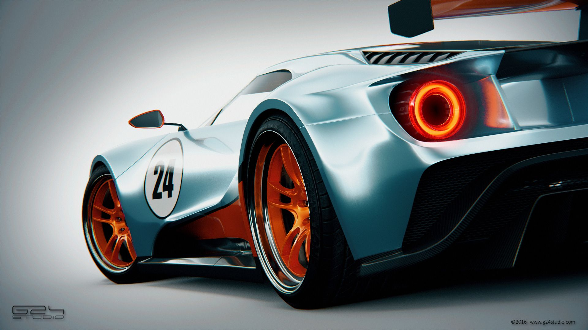 Ford Gt Gulf Special Le Mans X