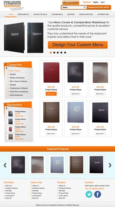 On Line Store Free WordPress Theme Freetemplatesonline Templates 501