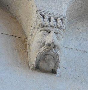 Маскароны на пятах арок Собора Модены | Соборы, Усачи и Мода