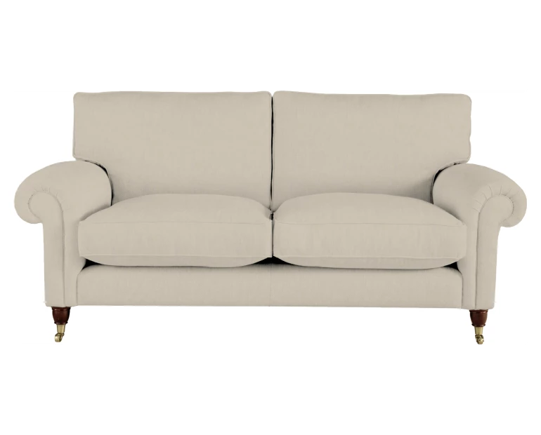 Kingston Sofa In Dalton Natural Fabric