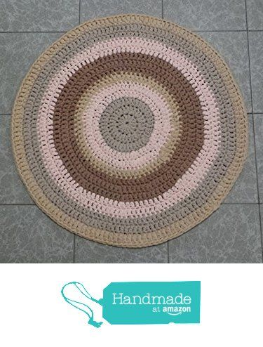 alfombra trapillo redonda de petunia & co. https://www.amazon.es/dp