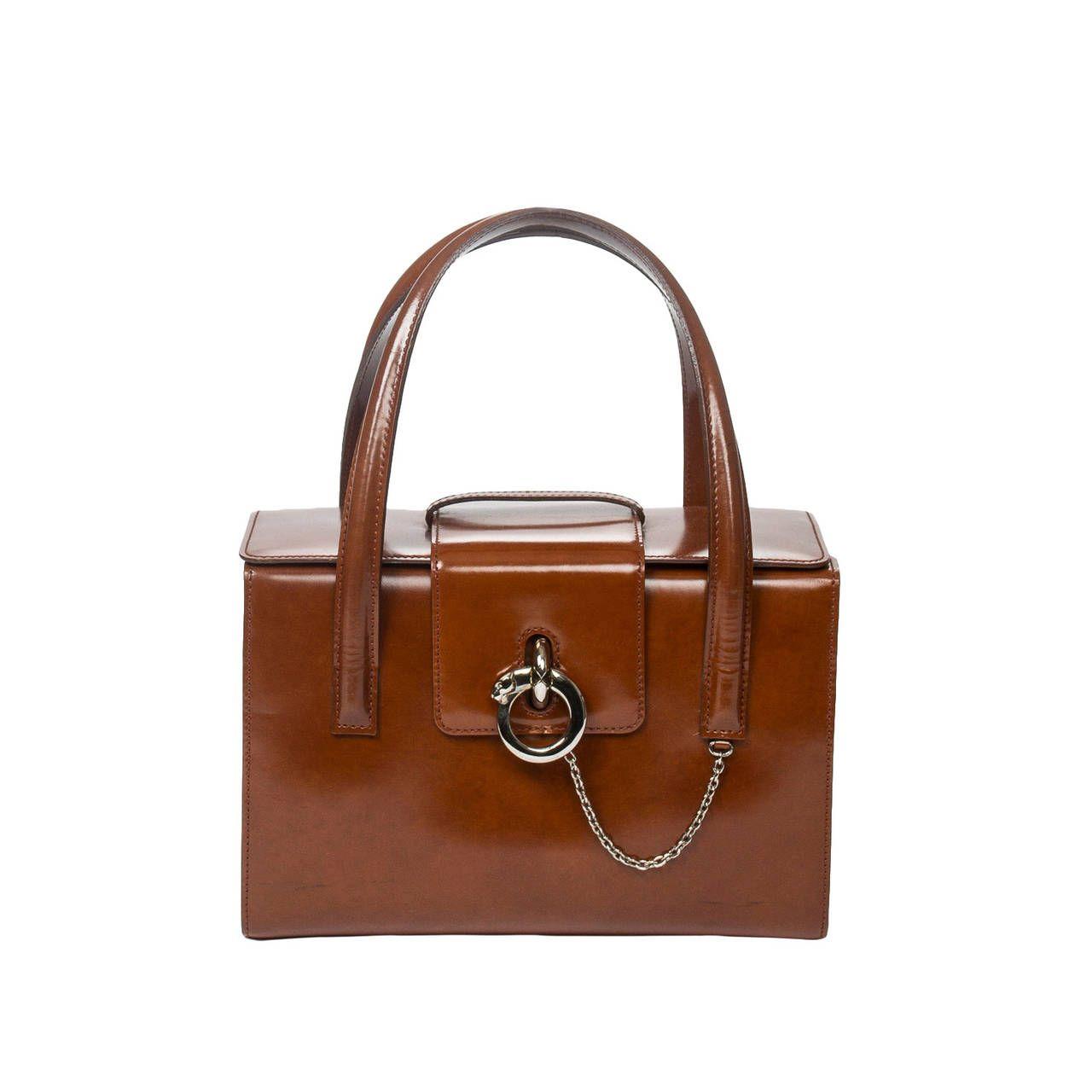 96b16be1949 Cartier Bag Panthere Brown