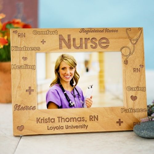 Registered Nurse Personalized Picture Frame Occupational Gift