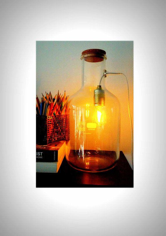 Lampe de verrerie de laboratoire chimie industrielle   Glass