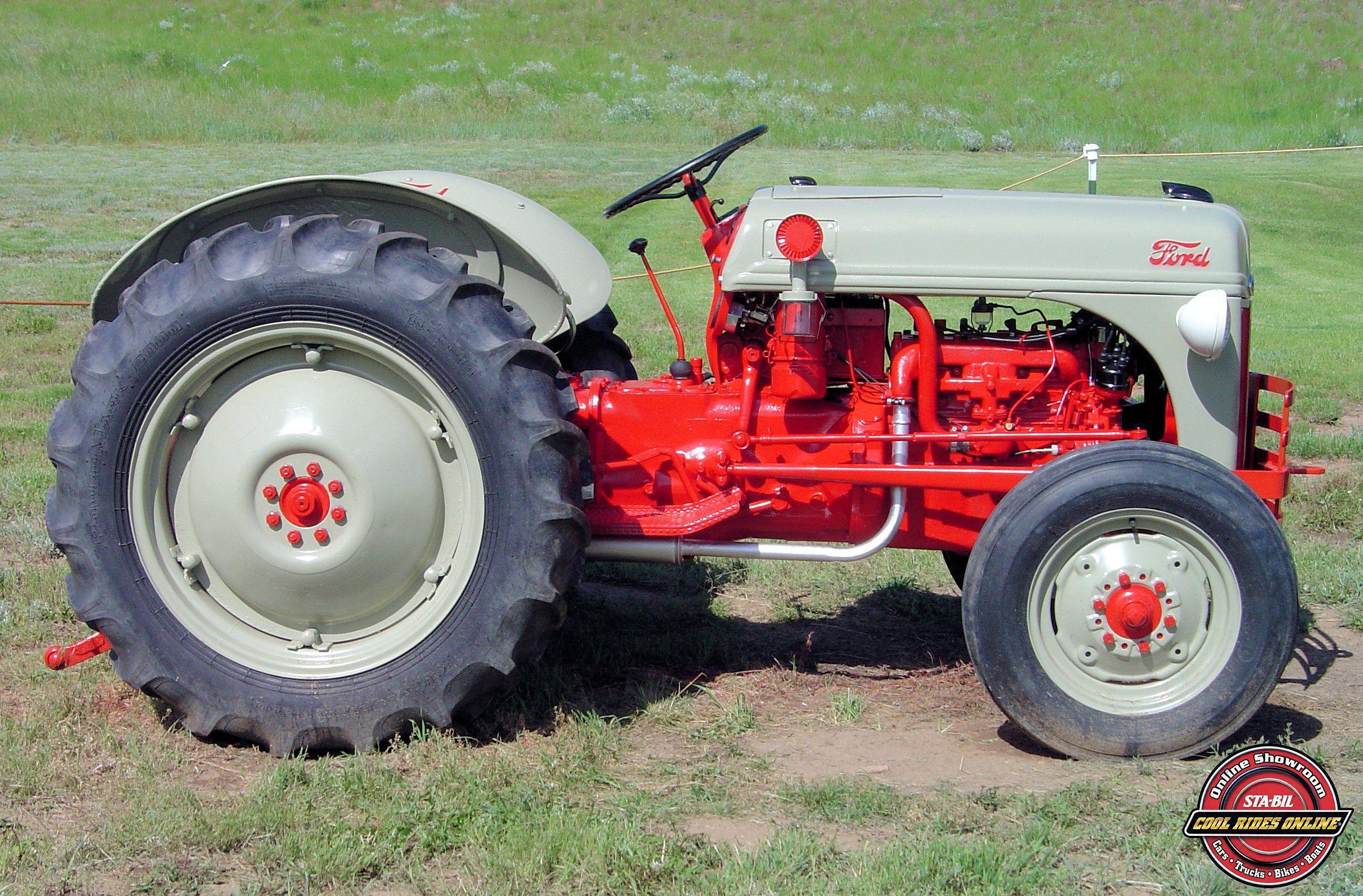 Ford Tractor Engine : Darwin sackett s ford n tractor representing start