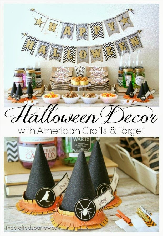 Halloween Decor, perfect for a party!