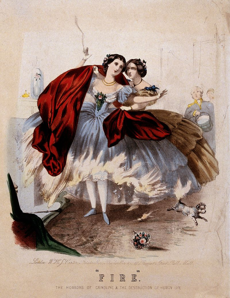 Green ball gowns tinted with arsenic. Top hats made of mercury. Flammable crinoline. These are just some of the lethal fashions covered in the new book Fashion Victims: The Dangers of Dress Past and Present, which details the history of death by clothing.