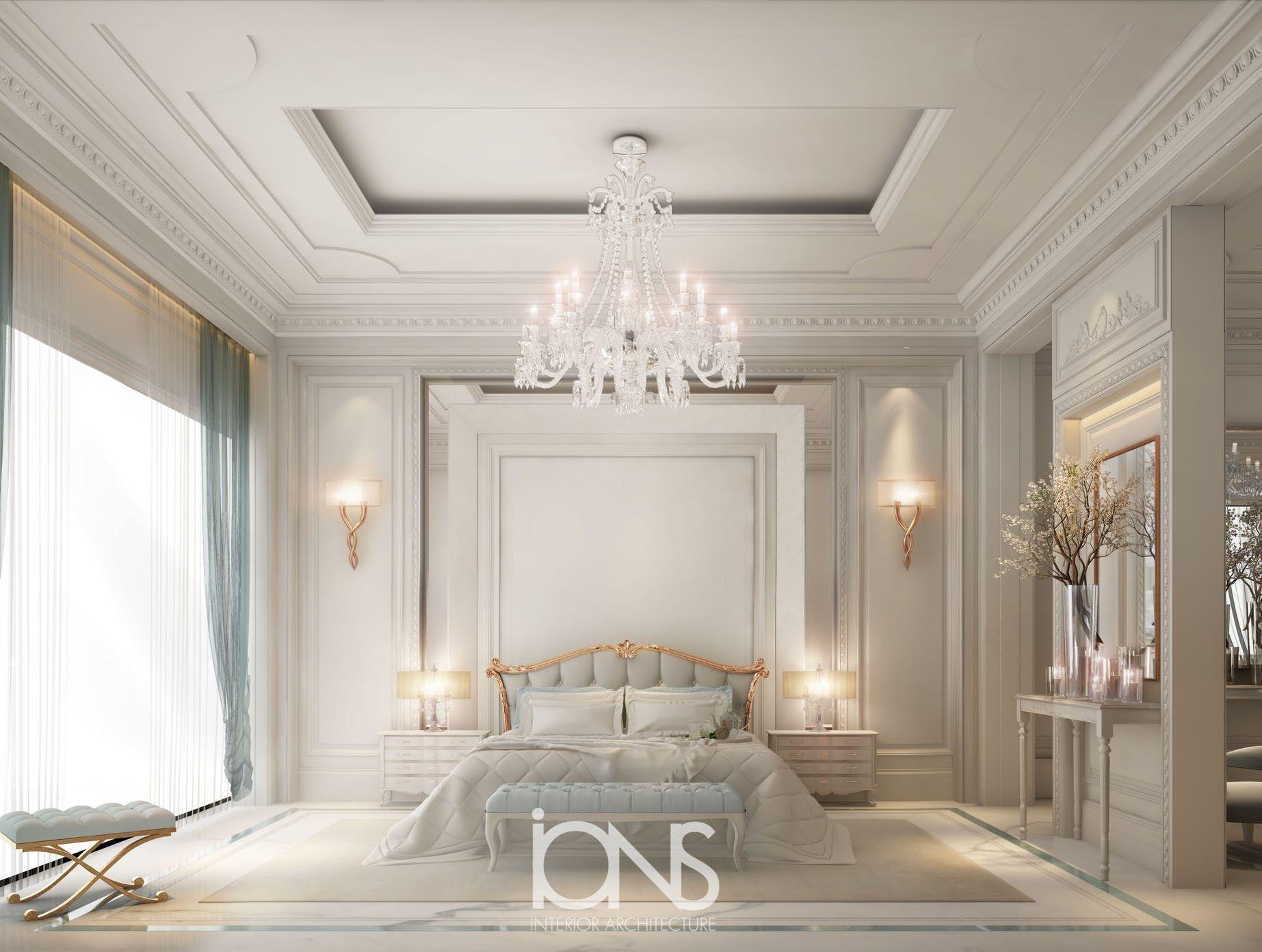 Elegant Neo Classic Master Bedroom Design | Luxurious ...