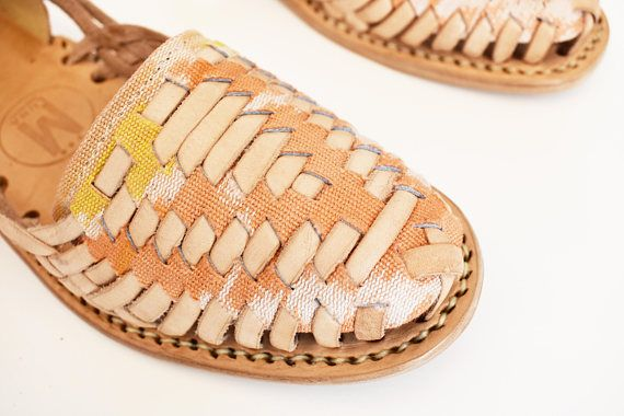 2f50bb89f6484 Ikat Tribal Handwoven Huaraches | Let's Get Some Shoes | Huaraches ...