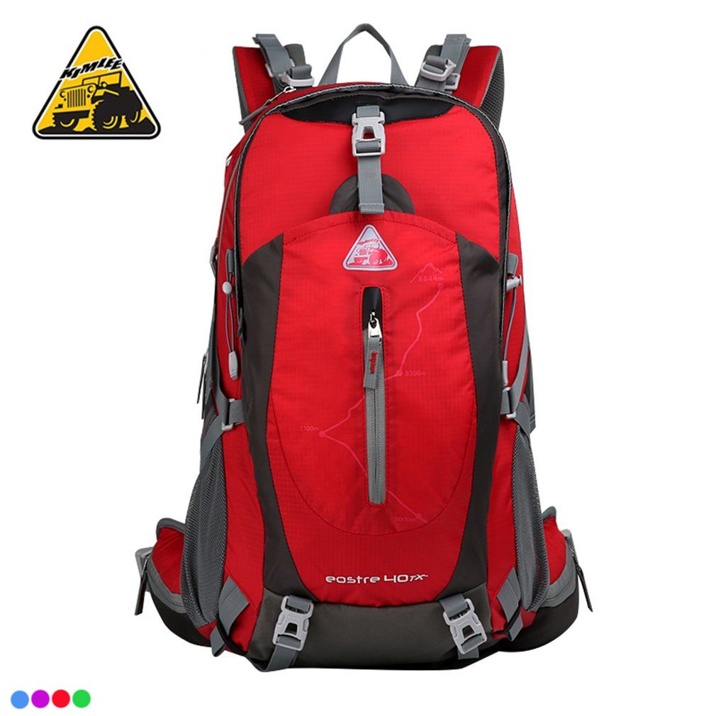 a72028be5ef3 KIMLEE 40L Outdoor 3D Suspension Mountaineering Backpack Large ...