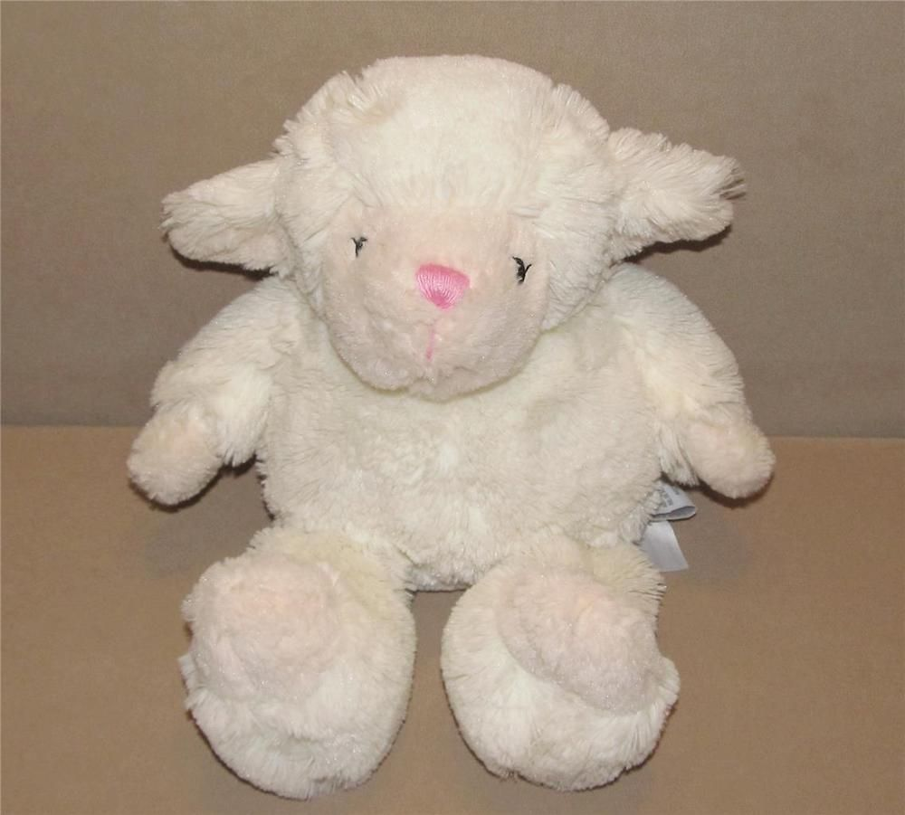 First Impressions Ivory Lamb Plush Macy S Baby Toy Off White Cream