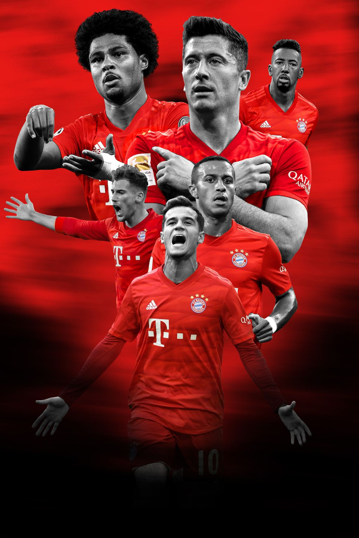 Bayern Munich Poster In 2020 Football Poster Bayern Munich Wallpapers Bayern Munich