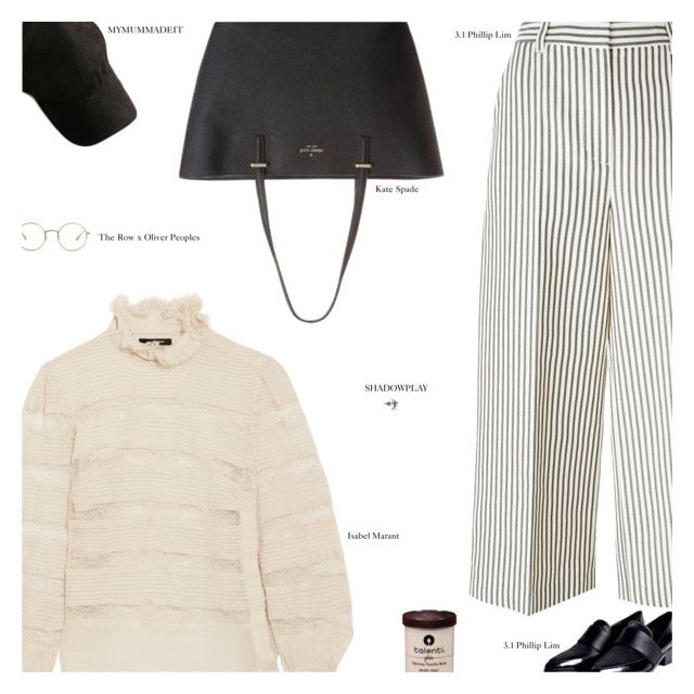 """""""Untitled #3736"""" by amberelb ❤ liked on Polyvore featuring Isabel Marant, 3.1 Phillip Lim, Kate Spade and The Row"""