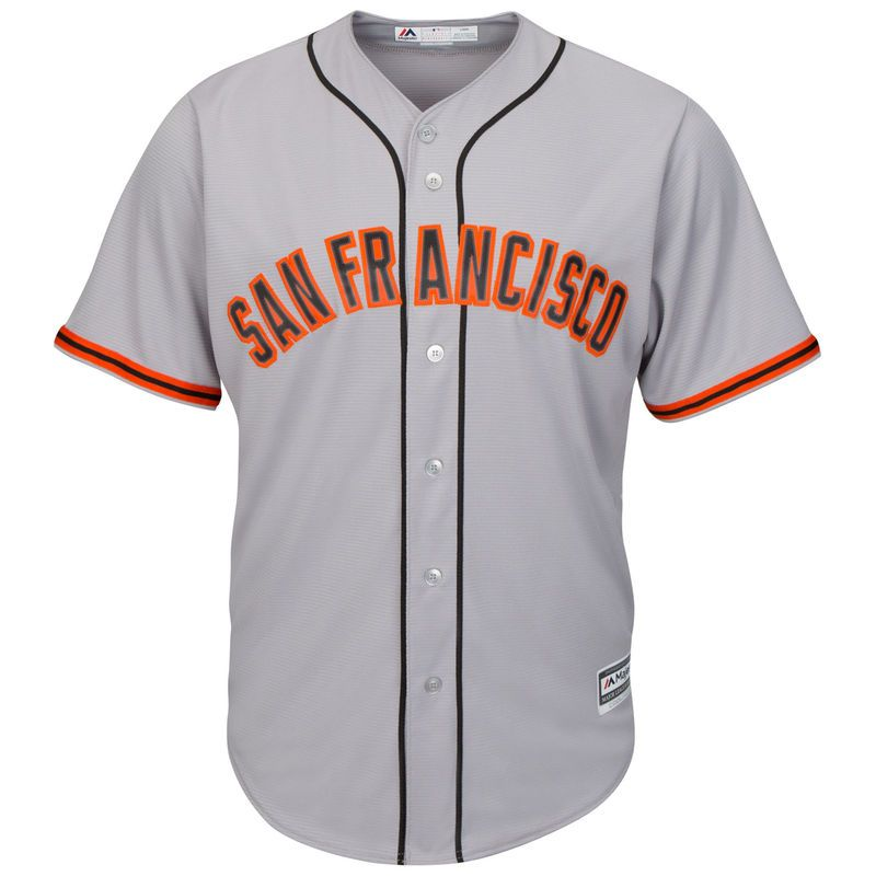 new concept 46d81 f9a22 San Francisco Giants Majestic Official Cool Base Jersey ...