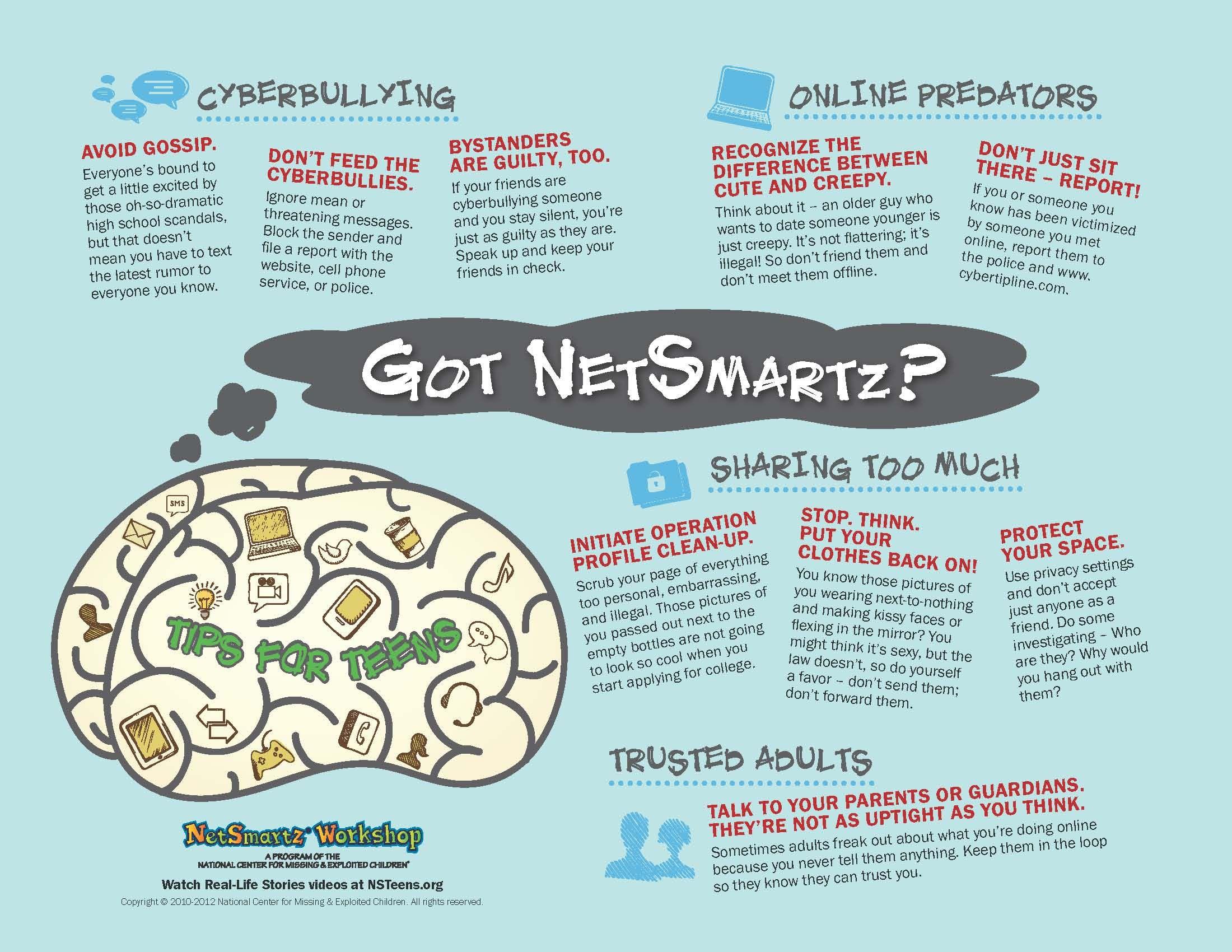 Internet Safety Tips For Teens Netsmartz