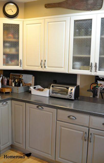 Chalk Painted Kitchen Cabinets   Reciclaje muebles, Reciclado de ...