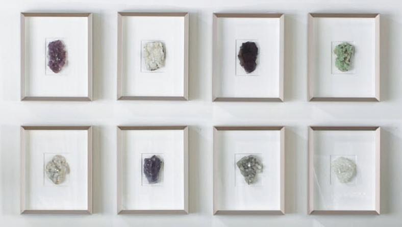 Cuadros Con Piedras Naturales Gallery Wall Decor Frame